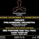 Danny Rampling - Cream (Classics) 02 Academy, London. 10-09-16.