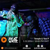 Heatwave Dec 1 / Temple & Yaw P / afreetune.com