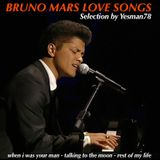 minimix BRUNO MARS LOVE SONGS (when i was your man, talking to the moon, rest of my life)