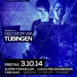Lukas Freudenberger @ Club 27 /// DISCOSTOFF VISIT TÜBINGEN