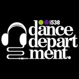 Paul Hazendonk at Dance Department Radio 538 (April 12 2014)