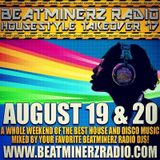 DJ EMSKEE SET FROM THE BEATMINERZ RADIO ALL HOUSE MUSIC MIXMASTERS WEEKEND - 8/19/17