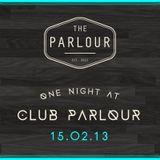 Live @ Parlour FFM (15/02/13)