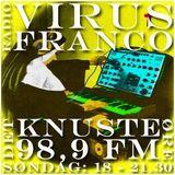 VIRUS RADIO, RADIO FRANCO & DET KNUSTE ØRE 10032013