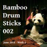Bamboo Drum Sticks 002