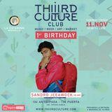 Sandro Jeeawock Mix for Third Culture 1st Birthday
