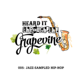 Heard It Through the Grapevine 005: Jazz-Sampled Hip-Hop
