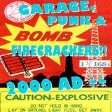 GARAGE, PUNK & FIRECRACKERS!! 2000 AD ++