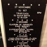 Tropicaza - Blacksanta - Live at Cafe 123 (Mexico City) 27/November/2014