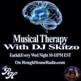"Musical Therapy #010 w/ DJ Skitzo ""College Invasion Mix"" LIVE on RoughHouseRadio.com"