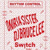 Dj Bruce Lee @ Switch 1r aniversari Rhythm Control Barcelona. Abril 2017.