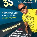 Peter Feel live @ Partyman & Licha B-Day party, Club Lift 18.04.2015