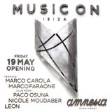 Leon, Paco Osuna - live @ Music On Opening Night, Amnesia - Club Room (Ibiza, Spain) - 19-May-2017