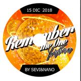Sevi Dj CD Remember The One 15 Diciembre 2018