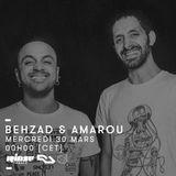 Resident Advisor x Concrete Take Over : Behzad & Amarou - 30 Mars 2016