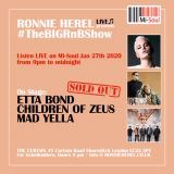 Ronnie Herel presents: #TheBIGRnBShow LIVE! R&B Pull Up! 27th Jan 2020 (No Ads Just BIGness!)