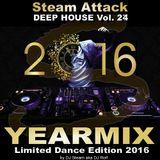 BEST OF 2016 - Steam Attack Deep House Mix Vol. 24