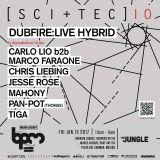 Carlo Lio & Marco Faraone - Live @ SCI+TEC, The Jungle, The BPM Festival, México (13.01.2017)