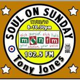 Soul On Sunday Show 17/02/19, Tony Jones on MônFM Radio * D R I F T E R S * S P E C I A L *