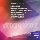 MAURICIO GATTO - D-EDGE MOVING - 02.04.2015