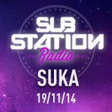 ● SUKA ● Set + entrevista en Substation Radio On Line ● NOVIEMBRE 2014
