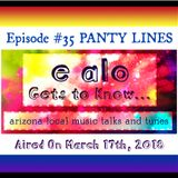 E Alo Gets To Know... PANTY LINES (episode 35)