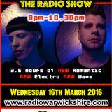 RW067 - THE JOHNNY NORMAL RADIO SHOW - 16TH MARCH 2016 - RADIO WARWICKSHIRE