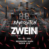ZWEIN live @ RAVEOLUTION, Beogradski Sajam 03.07.2015.