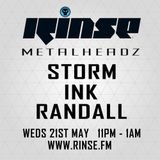 DJ Storm b2b DJ Ink b2b Randall @ Metalheadz Records Show, Rinse.fm 106.8 FM - London (22.05.2014)