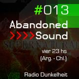 Abandoned Sound #013 - Supernatural