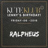 DJ-set @ Kute Klub (Lenny's Birthday 06-05-2016)