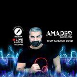 SUNDAY 11 of March with DJ amadeo