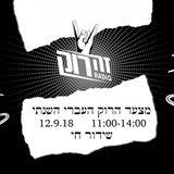 מצעד הרוק העברי השנתי של רדיו זה רוק - 12.9.18 - ברק מאיר,ערן הר-פז יובל יוספסון