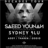 Saeed Younan Live at CODA Toronto for his 20th Anv. XX Decades Tour