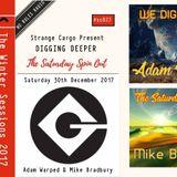 WE DIG DEEPER #Cassette Twenty Three - Adam Warped & Mike Bradbury - 30.12.17