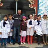 Entrevista a Daniel Baldi sobre Mi Mundial por alumnos de Escuela 111 de El Curupí.