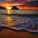Atardecer en la playa II
