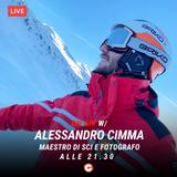 Alessandro Cimma maestro di sci e fotografo - #LavoriOnAir - #DiscoveryClusterFm