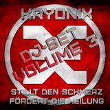 KRYONIX DJ-SET VOL. 3