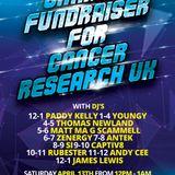 DJ Antek CRT Charity Fundraiser for Cancer Research UK (April 2019)