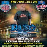 @DJXtcnet #JustSalsa (CuarentaySeis) @LatinoMundialR @LatinoFleetDJs @FleetDJs @FleetDJRadio