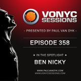 Paul van Dyk's VONYC Sessions 358 - Ben Nicky