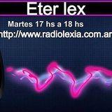 ETER LEX 27-09-16 en RADIO LEXIA