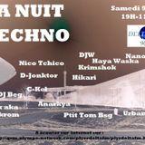 DJW - La nuit Techno sur Delta FM 10/06/12