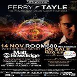Snaz - Live At Trancegression Pres. Ferry Tayle Australian Tour, Rom 680 (Melbourne) - 14-11-2014