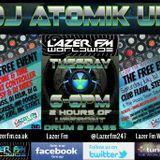 13.06.17 Atomik Drum & Bass Radio-Active Show @ Lazer FM Worldwide