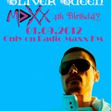 Oliver Queen @ Radio Maxx FM Bulgaria 4th Birthday (01.09.2012)