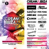 Sasha b2b Pete Tong - Live at Cream Privilege (Ibiza) - 02.08.2014