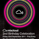 Mixcloud's 2nd Birthday: Silicon Roundabout Social Club presents...Vol.2