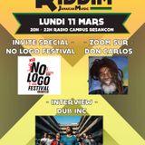 Emission RIDDIM 11 mars 2019 avec DUB INC et le staff du No Logo festival